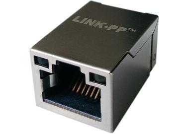 LEDs が付いている LPJ19201BGNL の表面の台紙 1x Rj45 タブ、10/100Base-T イーサネット